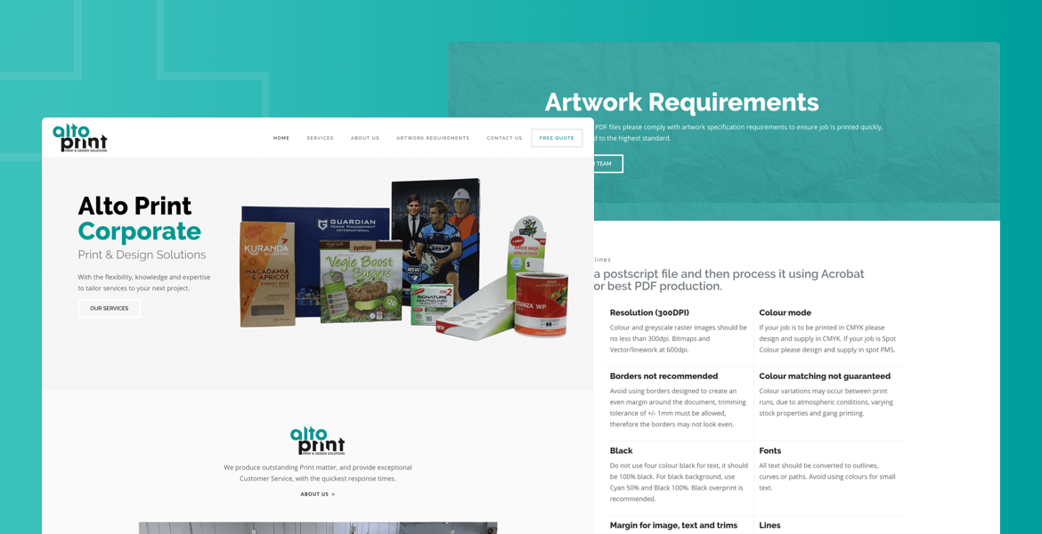 website design Parramatta Alto