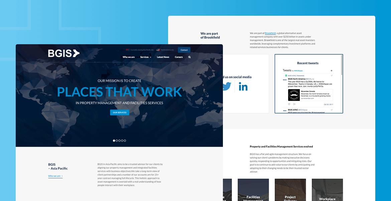 client Web Design Parramatta portfolio BGIS