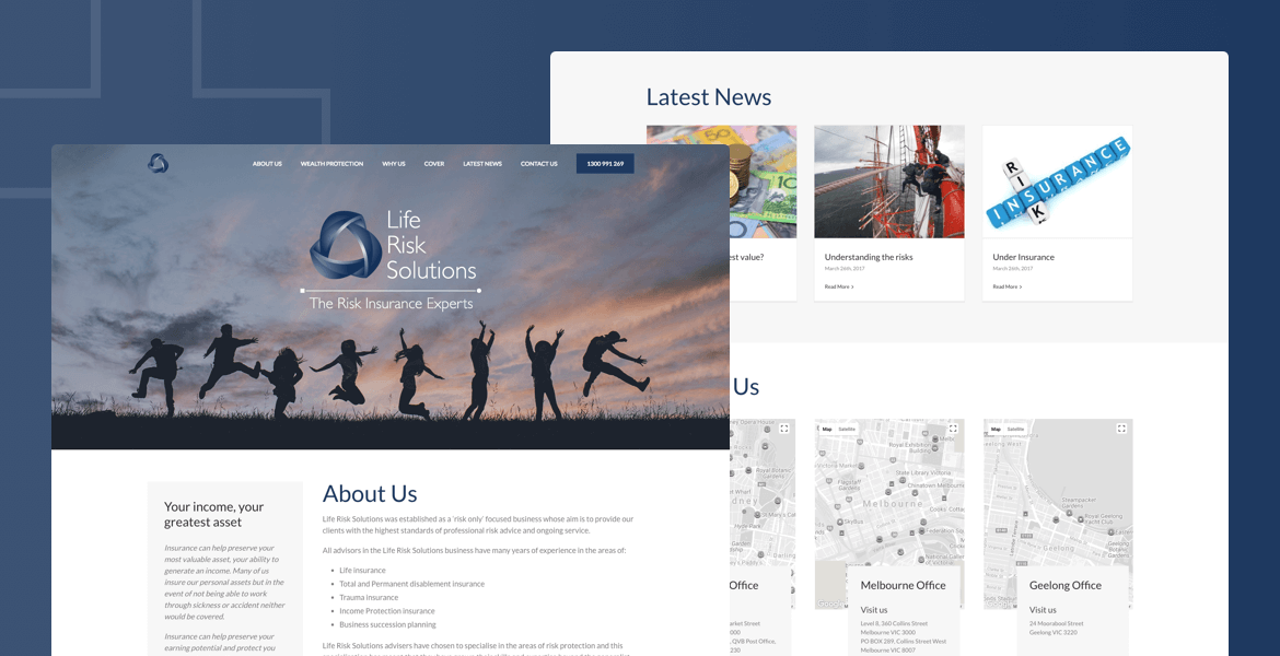 website design Parramatta LRS
