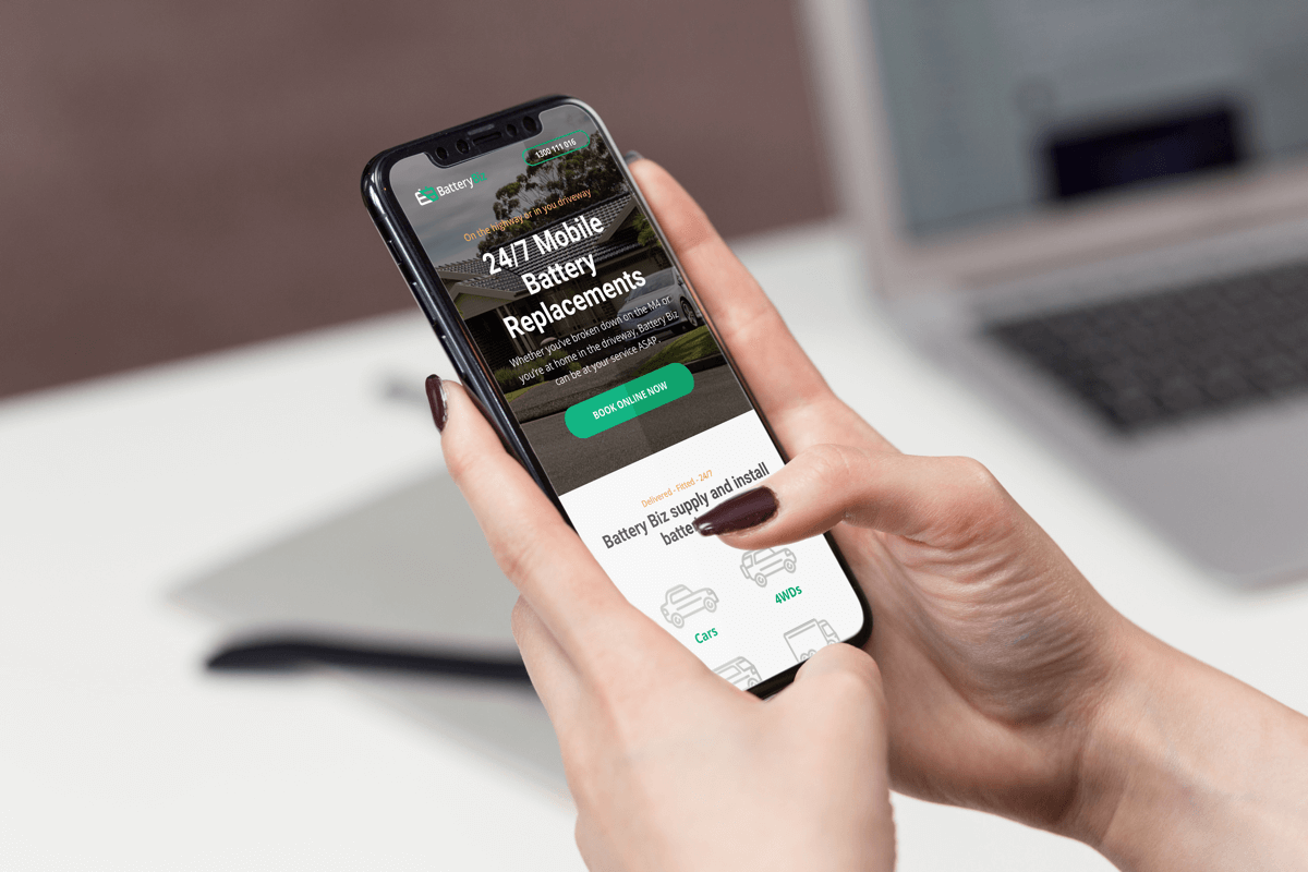 iphone-wordpress-website-design-battery-biz