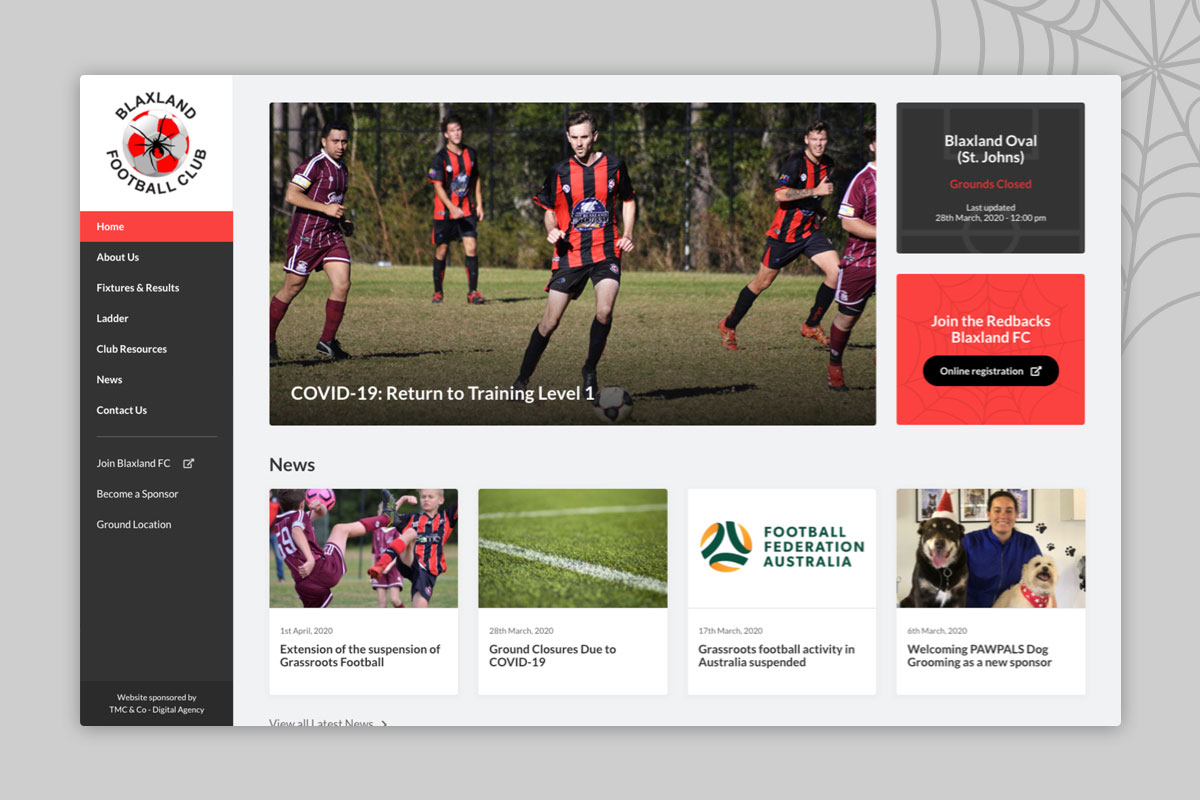 blaxland-wordpress-design