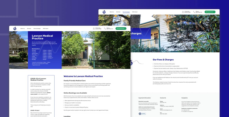 lawson-medical-website-design